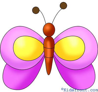 butterfly drawing - Images Of Drawings For Kids