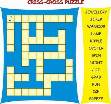 Cris Cross Puzzle