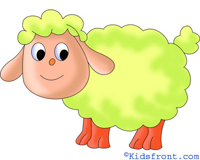 How to Draw Sheep, How to Draw for Kids, How to Draw Step by Step Sheep